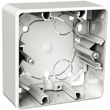 Schneider Electric Exxact Förhöjningsram för dimmer, vit