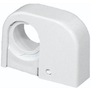 Purus Purusklämman Rörklämma enkel, 22-28 mm, vit
