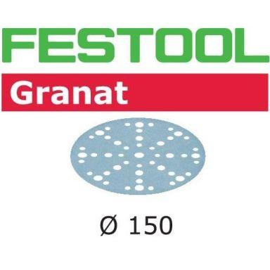 Festool STF D150 GR Hiomapaperi 150mm, 48-reikäinen, 10 kpl