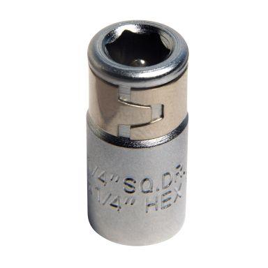 """Ironside 116138 Bitsadapter 1/4"""", 4-kant til 6-kant"""