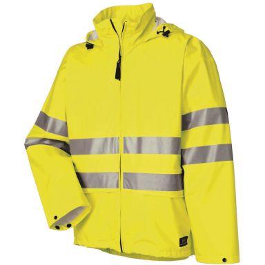 H/H Workwear Narvik Regnjacka varsel, gul