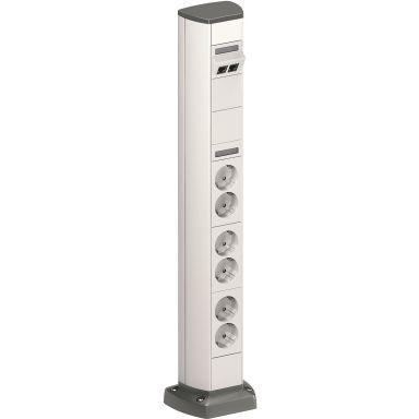 Schneider Electric INS40501 Uttagspost 602 mm, enkelsidig