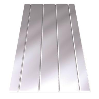 LK Systems EPS 16 Spårskiva aluminium, 600 x 1200 mm