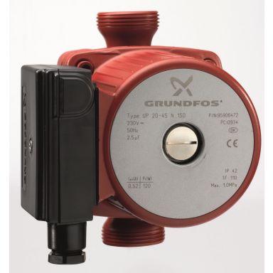 Grundfos UP 20-30 N 150 Tappvarmvattenpump exklusive kopplingar