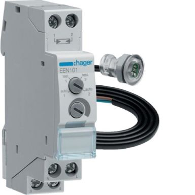 Hager EEN101 Ljusrelä 16 A, med infälld sensor