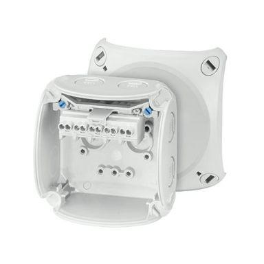 Ifö Electric KF 0202 G Kopplingsdosa grå, IP66, glasfiber, 2,5 mm²