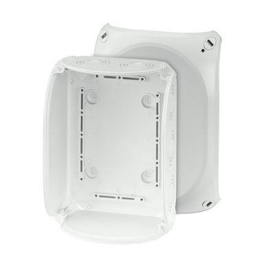 Hensel KF 1600 G Kopplingsdosa grå, IP66, glasfiber, utan plint