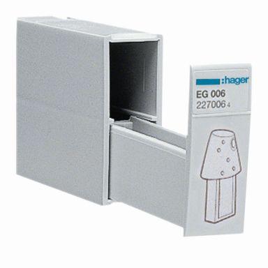 Hager EG006 Nøkkelrom for 2 stk. programnøkler