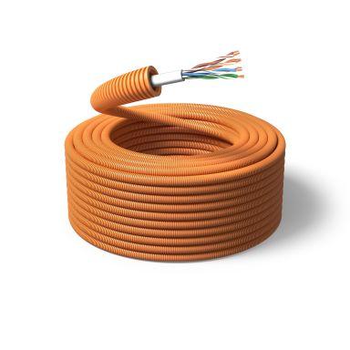 PM FLEX TELE Telekabel fördragen, 16 mm x 100 m, 4x2x0,5 mm²