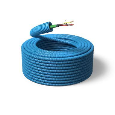 PM FLEX KNX Kabel fördragen, 16 mm x 100 m, 2x2x0,8 mm²
