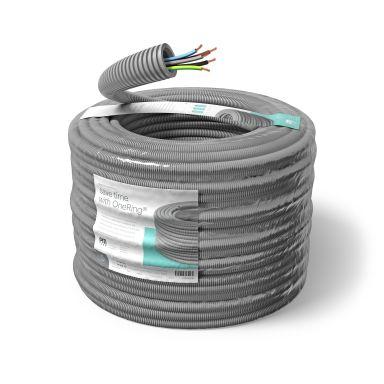 PM FLEX FQ ZERO Kabel forhåndslagt, 16 mm x 100 m