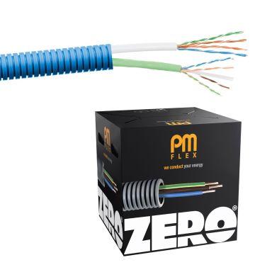 PM FLEX Kat6 ZERO Multimediakabel forhåndslagt, trippelskjermet, halogenfri