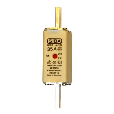 SIBA 2000213.50 Knivsäkring NH0, gL/gG