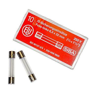 SIBA 7005961.10 Finsäkring 6 x 32 mm, 10-pack