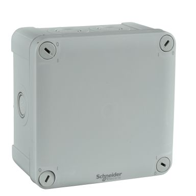 Schneider Electric ENN05085 Kytkentärasia harmaa, knock-outit, pinta-asennus