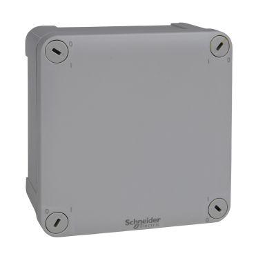 Schneider Electric ENN05045 Kytkentärasia harmaa, sileä, pinta-asennus