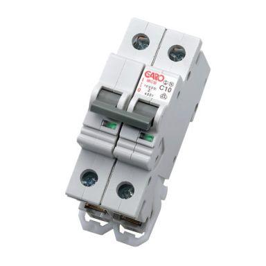 Garo MCB GS C210 Dvärgbrytare 2-polig, typ C, 10kA