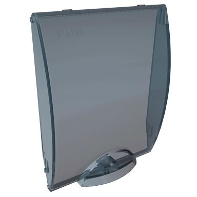 Hager GP108T Dør transparent
