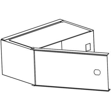 Eldon MED165 Mediabox med jordplint