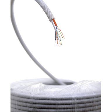 Elko U/UTP C6 Kabel fördragen, utan plastkryss, 250MHz, 100 m