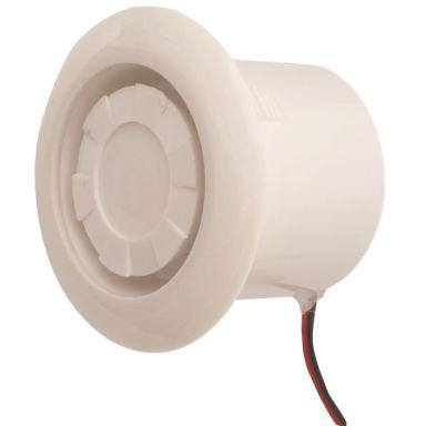 Teletec Connect 100094 Siren för infällt montage, vit