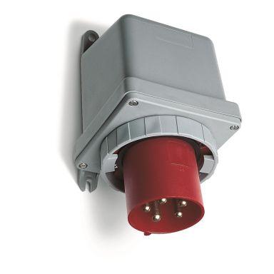 ABB 2CMA167078R1000 Väggintag IP67, 5-polig, röd