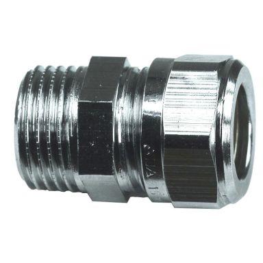 Gelia 3006123012 Klemringkobling rett, kobber-utv. gjenge