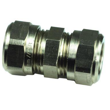 Gelia 3006111202 Klemringkobling rett, kobber-kobber, messing