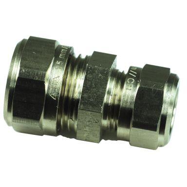 Gelia 3006111302 Klemringkobling rett, kobber-kobber, redusert, messing
