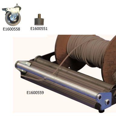 Z 580900-00 Gummifot för kabelvagga Easy Roll