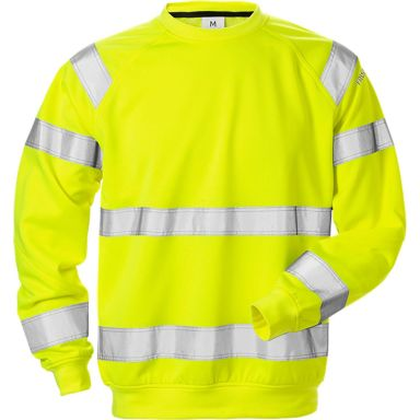 Fristads 7446 SHV Sweatshirt varselgul