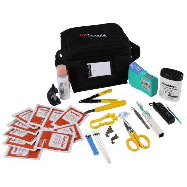 Hexatronic 2100100 Rengöringskit för fiber, med väska
