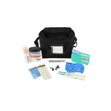 Hexatronic 2100120 Rengöringskit för fiber, med väska