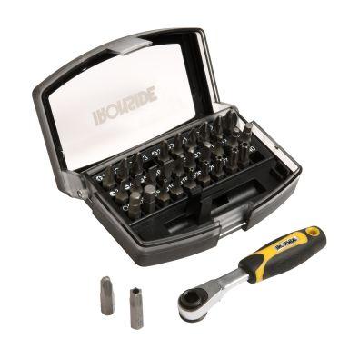 Ironside 244000 Bitssats 31 delar, med bitsspärrnyckel