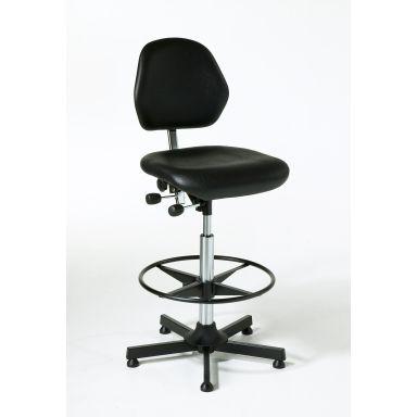 Global Stole 601070101 Arbetsstol med fotring, 650-900 mm