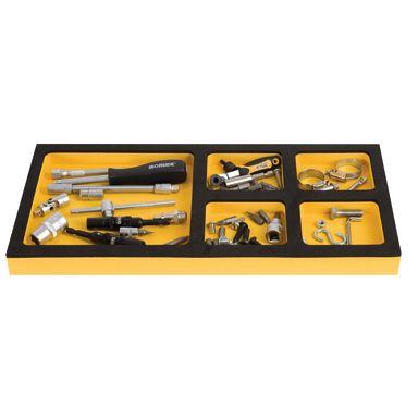 Ironside 100263 Innbyggingsmodul til verktøyvogn, 5 lommer