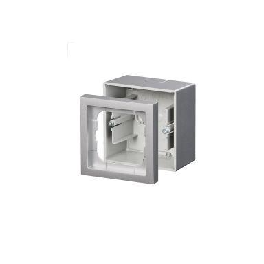 ABB Impressivo Förhöjningsram aluminium