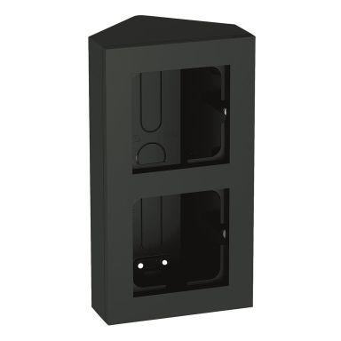 Elko Plus Hörnbox 2-fack, svart