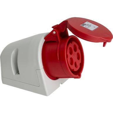 Garo 352176 Vägguttag röd, med CRU