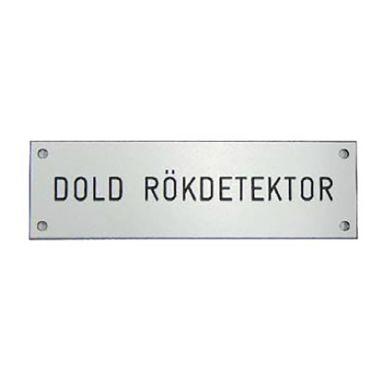 """Calectro SK.DOLD Indikeringsskylt &quotdold rökdetektor"""""""