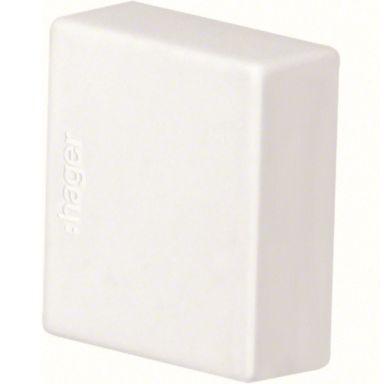 Hager LF1501569010 Ändstycke 15 x 15 mm, vit