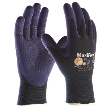 ATG MaxiFlex ELITE 34-244 Montagehandske blå med dot