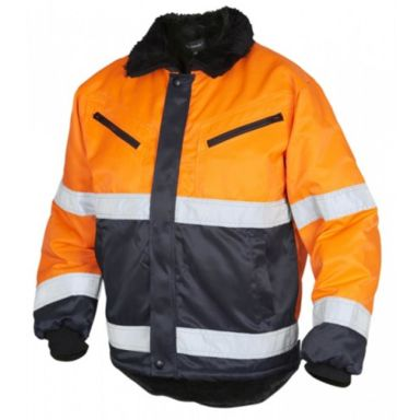 Top Swede 5616 Vinterjacka varsel, orange