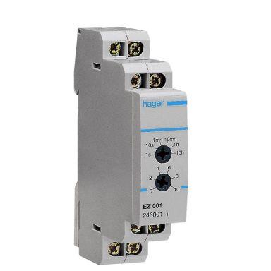 Hager EZN001 Tidsrelä 10A, 230V AC