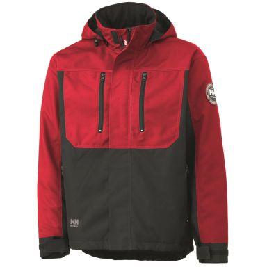 Helly Hansen Workwear Berg Jacka röd/svart