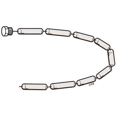 Nibe 034049 Kedjeanod för Compact-E, magnesium