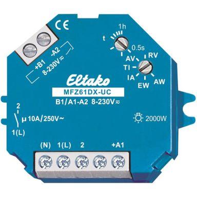 Eltako MFZ61DX-UC Tidsrelé 10A, 8-230 V, 6 funksjoner