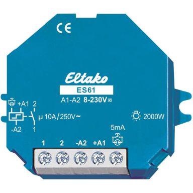 Eltako ES61-8-230V Relé 1 sluttende, 8-230V AC/DC, 10 A