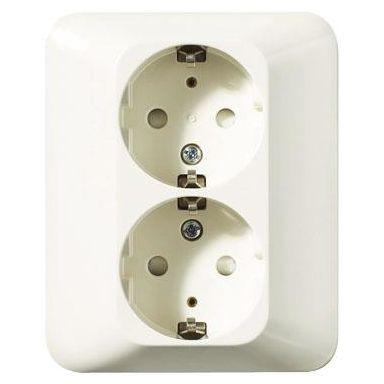 Schneider Electric Trend 183029600 Vekkuttak hvit