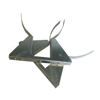 Eldon FJ1 Stolpfäste för mätarskåp, 1 par